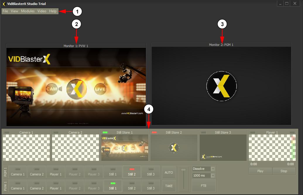 Broadcast Using VidBlasterX | Live Streaming manual V7