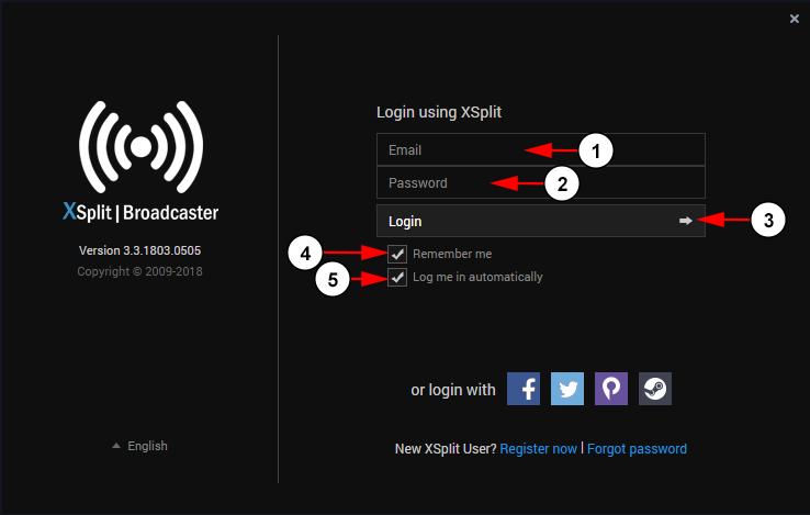Broadcast Using XSplit | Live Streaming manual V7